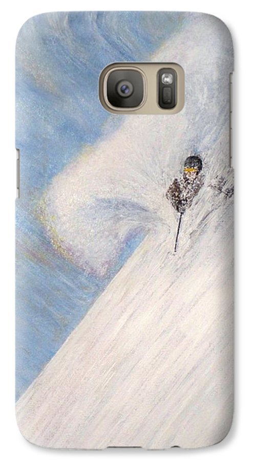 Landscape Galaxy S7 Case featuring the painting Dreamsareal by Michael Cuozzo