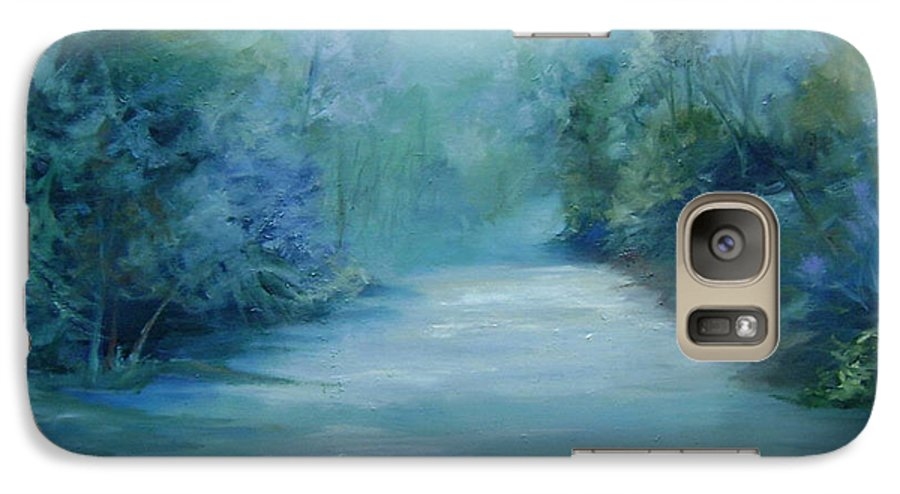 Burton River Georgia Galaxy S7 Case featuring the painting Dreamsome by Ginger Concepcion
