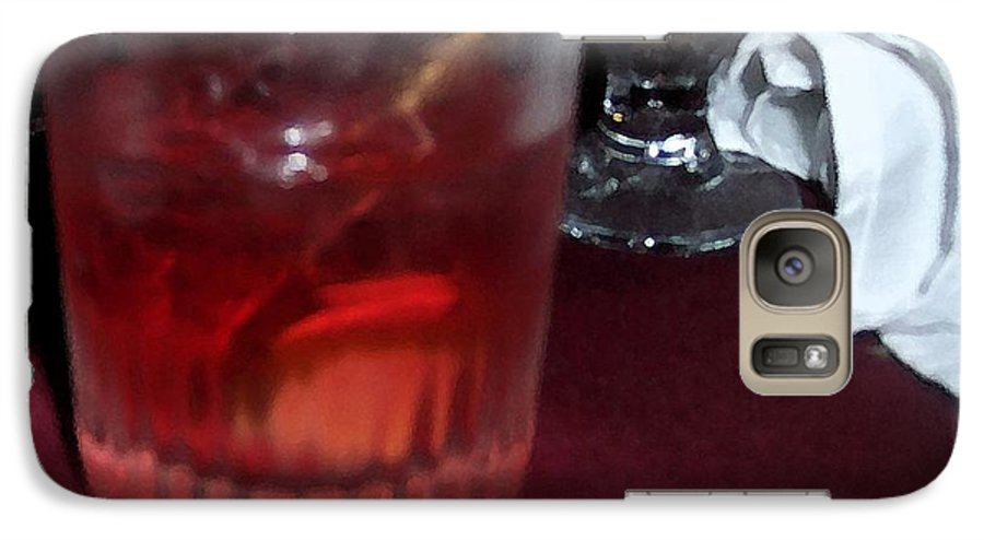 Drinks Galaxy S7 Case featuring the photograph Drink Up by Debbi Granruth