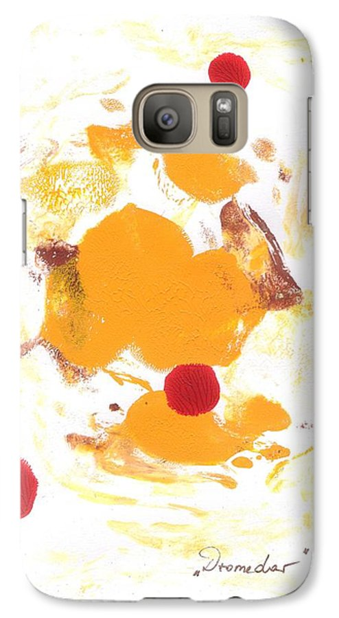 Decalcomanie Galaxy S7 Case featuring the painting Dromedar by Michael Puya