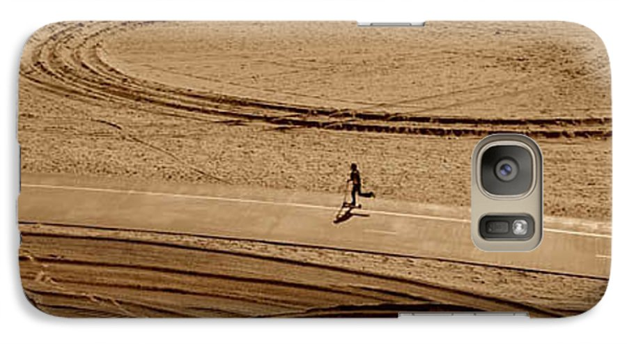 Child Galaxy S7 Case featuring the photograph Easy Rider by Michael Ziegler