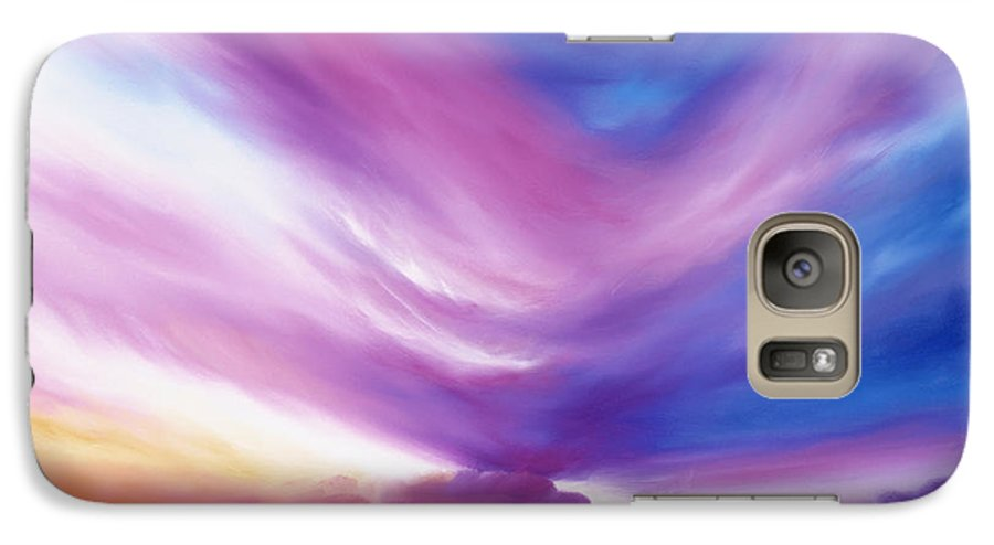 Clouds Galaxy S7 Case featuring the painting Ecstacy by James Christopher Hill