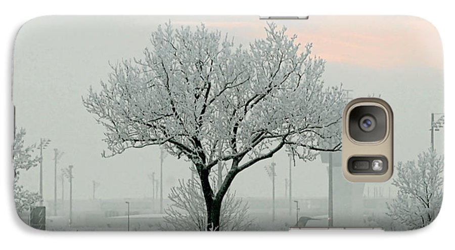 White Galaxy S7 Case featuring the photograph Eerie Days by Christine Till