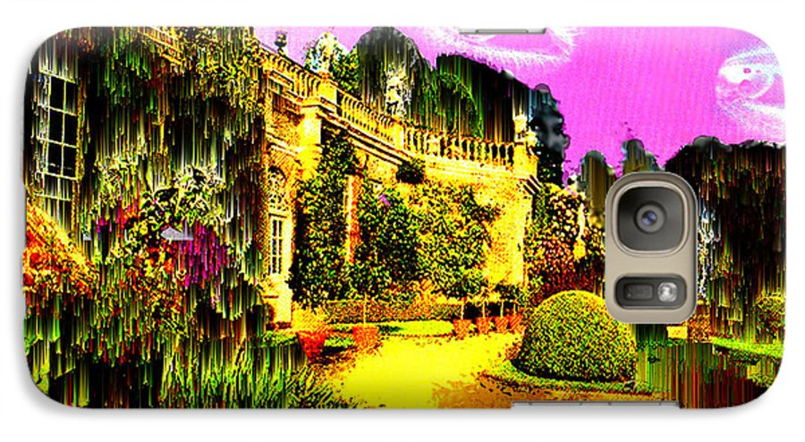 Mansion Galaxy S7 Case featuring the digital art Eerie Estate by Seth Weaver