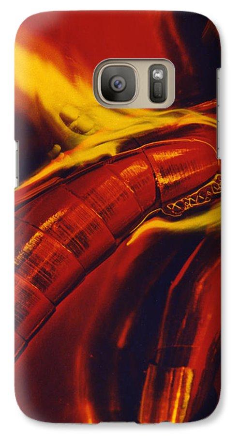 Abstract Galaxy S7 Case featuring the photograph Eritico by David Rivas