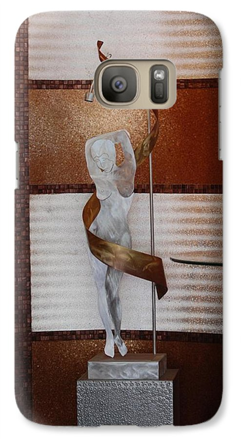 Statue Galaxy S7 Case featuring the photograph Erotic Museum Piece by Rob Hans