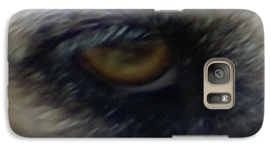 Eyes Galaxy S7 Case featuring the photograph Eye Of The Beholder by Debbie May