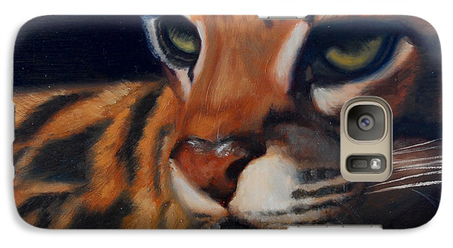 Painting Galaxy S7 Case featuring the painting Eyes Wide Open by Greg Neal
