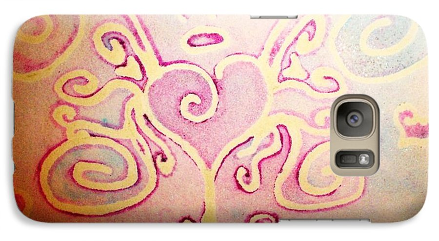 Love Galaxy S7 Case featuring the painting Fairylove by Chandelle Hazen