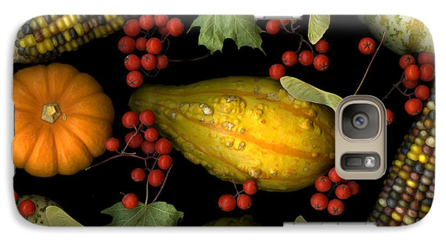 Slanec Galaxy S7 Case featuring the photograph Fall Harvest by Christian Slanec