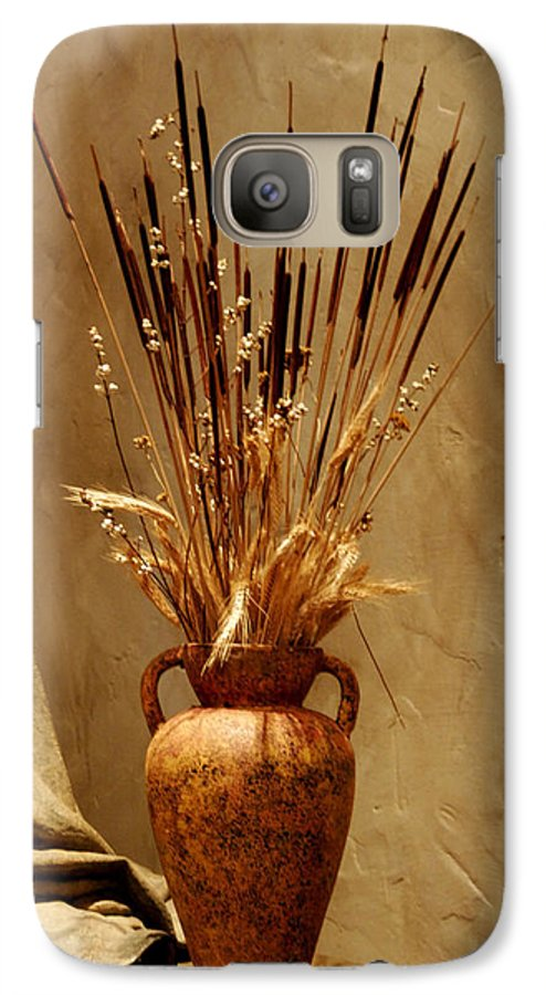 Fall Galaxy S7 Case featuring the photograph Fall In A Vase Still-life by Christine Till