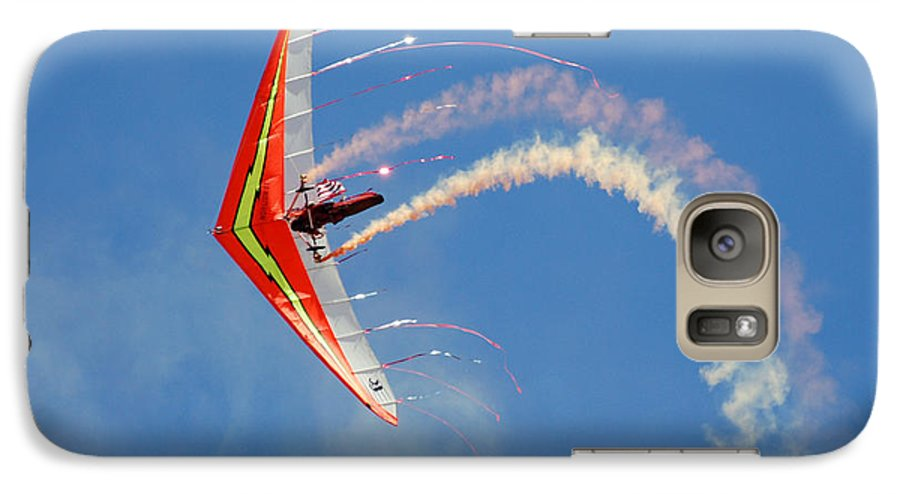 Sky Galaxy S7 Case featuring the photograph Fantasy Flight by Larry Keahey