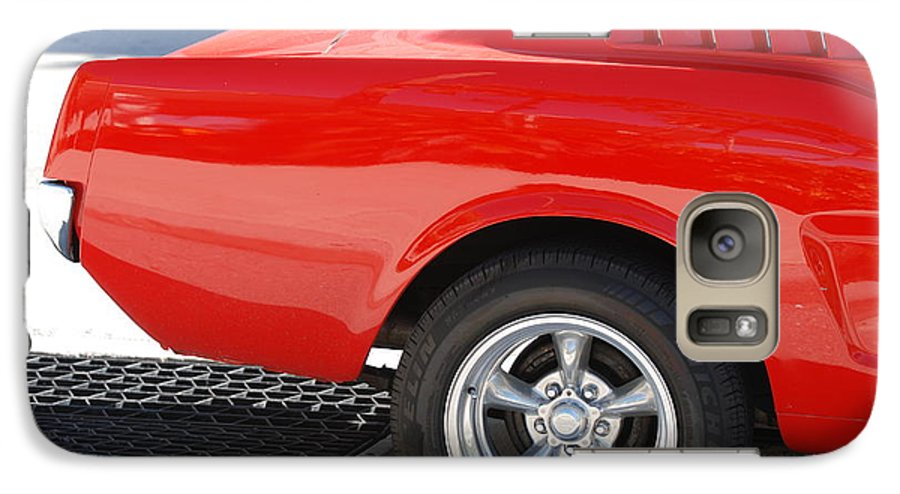 Ford Galaxy S7 Case featuring the photograph Fastback Mustang by Rob Hans