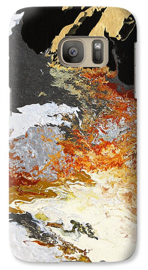 Fusionart Galaxy S7 Case featuring the painting Fathom by Ralph White