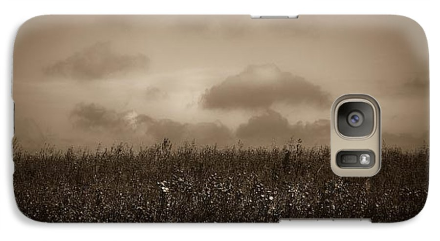 Poland Galaxy S7 Case featuring the photograph Field In Sepia Northern Poland by Michael Ziegler