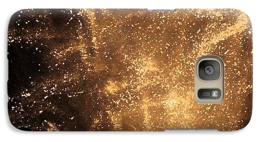 Fireworks Galaxy S7 Case featuring the photograph Fired Up by Debbi Granruth
