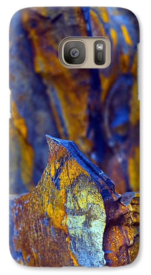 Texture Galaxy S7 Case featuring the photograph First Cut Is The Deepest by Skip Hunt