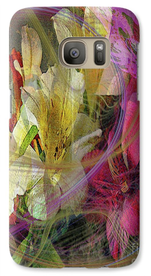 Floral Inspiration Galaxy S7 Case featuring the digital art Floral Inspiration by John Beck