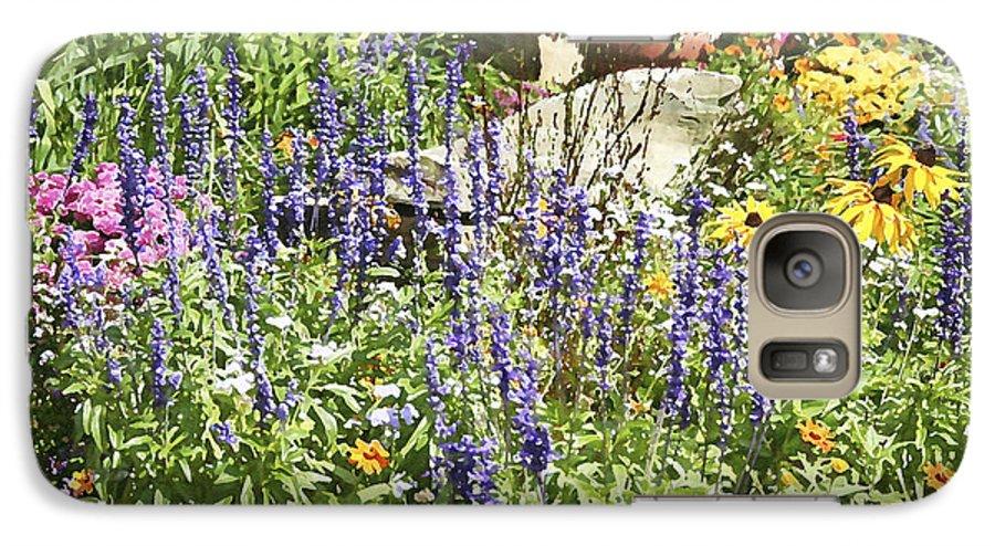 Flower Galaxy S7 Case featuring the photograph Flower Garden by Margie Wildblood