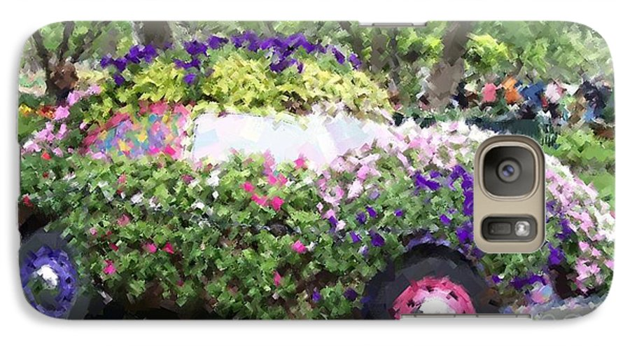 Cars Galaxy S7 Case featuring the photograph Flower Power by Debbi Granruth