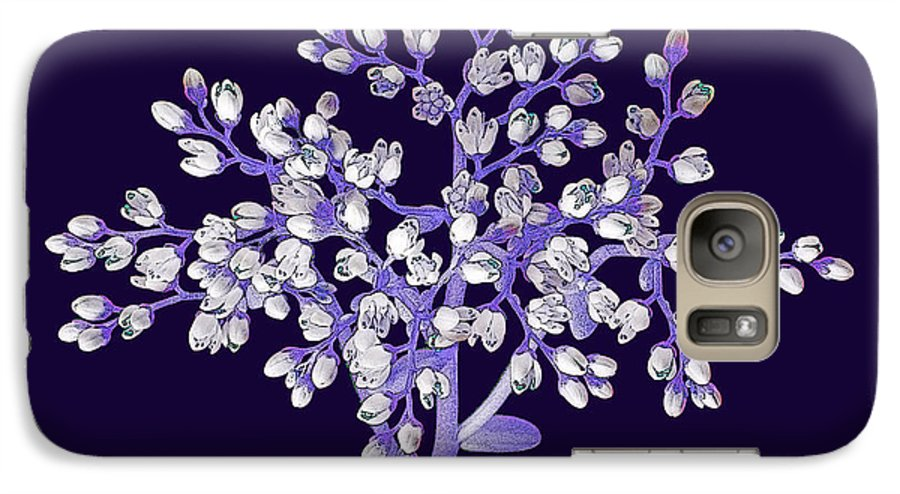 Flower Galaxy S7 Case featuring the photograph Flower Tree by Digital Crafts