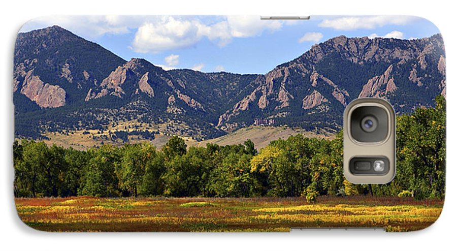 Fall Galaxy S7 Case featuring the photograph Foothills Of Colorado by Marilyn Hunt