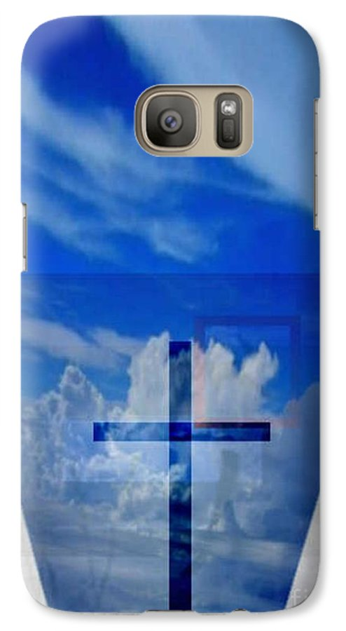 Inspirational Galaxy S7 Case featuring the digital art Forever Settled by Brenda L Spencer