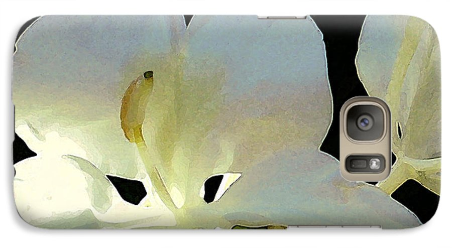 Ginger Galaxy S7 Case featuring the photograph Fragrant White Ginger by James Temple