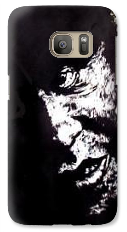 Galaxy S7 Case featuring the mixed media Friendly Advice by Chester Elmore