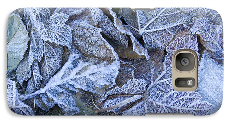 Frost Galaxy S7 Case featuring the photograph Frost by Idaho Scenic Images Linda Lantzy