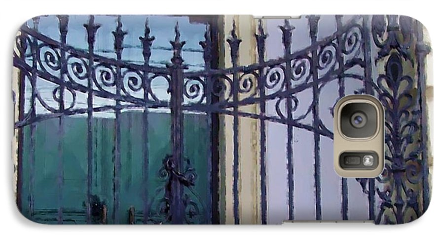 Gate Galaxy S7 Case featuring the photograph Gated by Debbi Granruth
