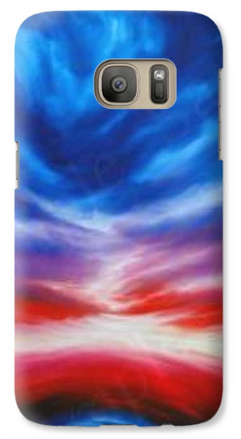 Tempest Galaxy S7 Case featuring the painting Genesis IIi by James Christopher Hill