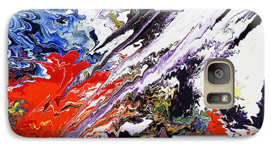 Fusionart Galaxy S7 Case featuring the painting Genesis by Ralph White