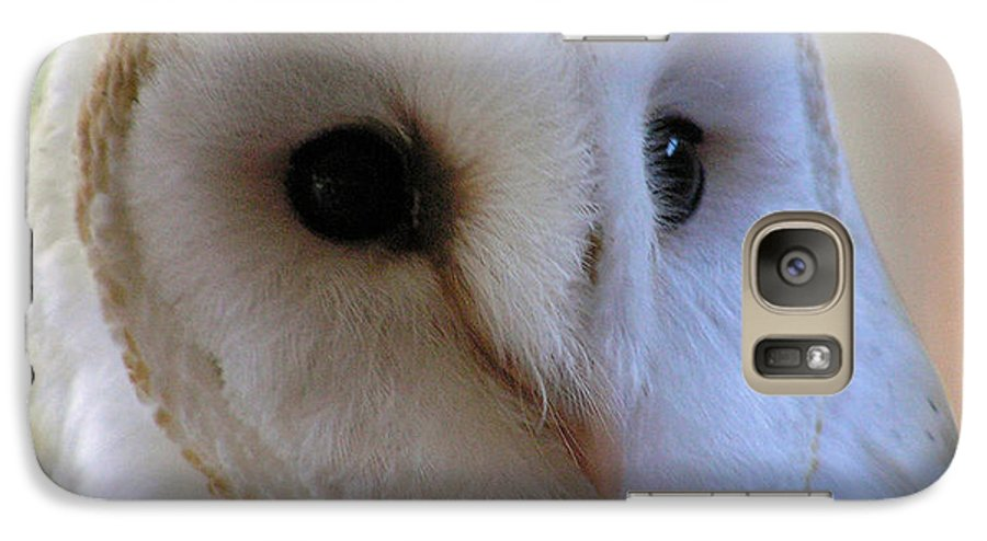 Barn Galaxy S7 Case featuring the photograph George by Louise Magno