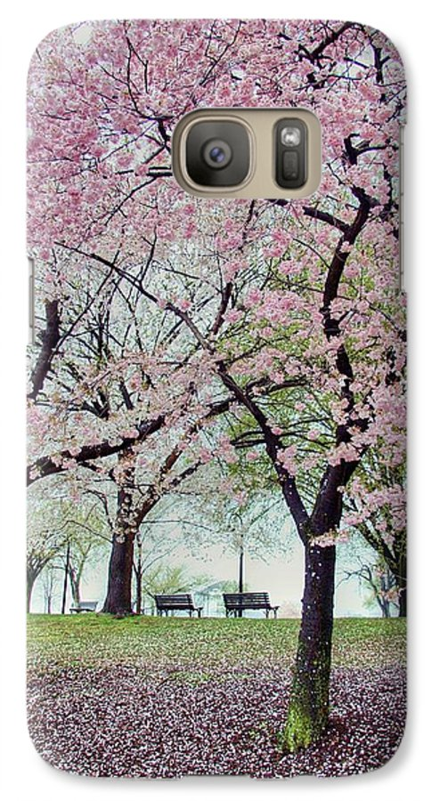 Cherry Blossoms Galaxy S7 Case featuring the photograph Gifts by Mitch Cat