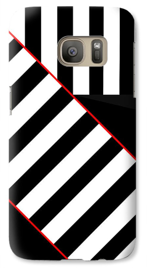 Galaxy S7 Case featuring the digital art Ginza The Babel Legend by Asbjorn Lonvig