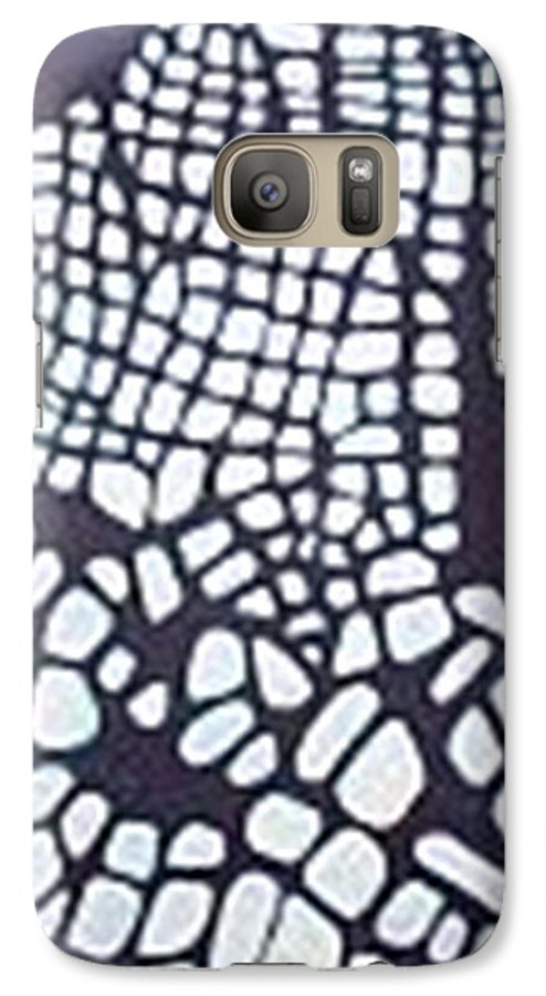 Galaxy S7 Case featuring the painting Glaciers by Carol P Kingsley