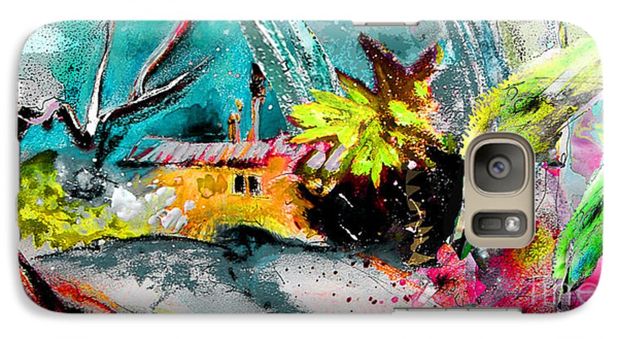 Pastel Painting Galaxy S7 Case featuring the painting Glory Of Nature by Miki De Goodaboom