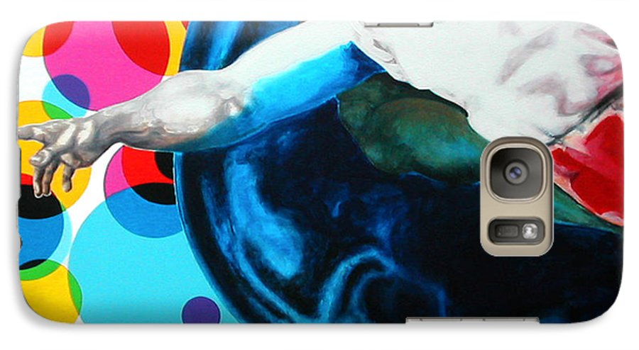 Classic Galaxy S7 Case featuring the painting God by Jean Pierre Rousselet