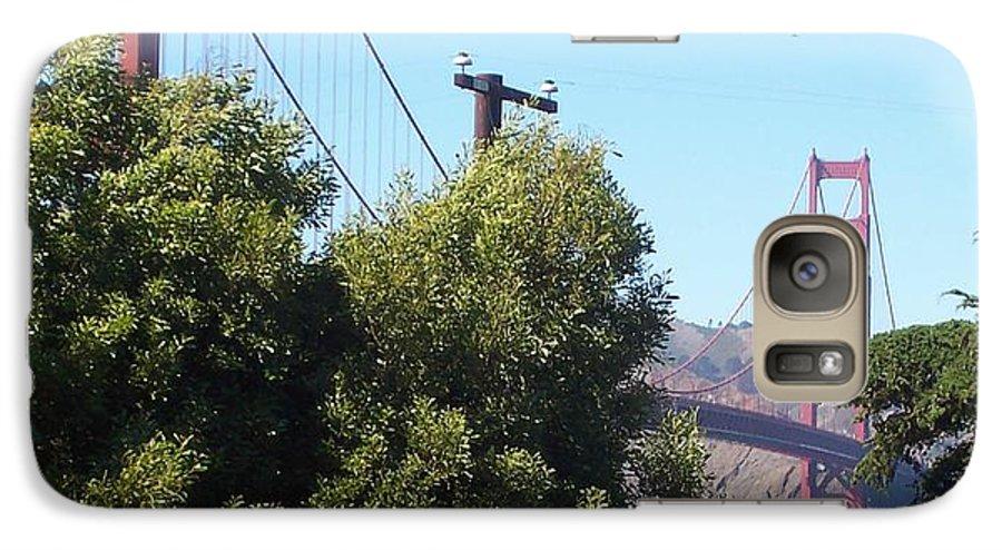 Golden Gate Bridge Galaxy S7 Case featuring the photograph Golden Gate by Elizabeth Klecker