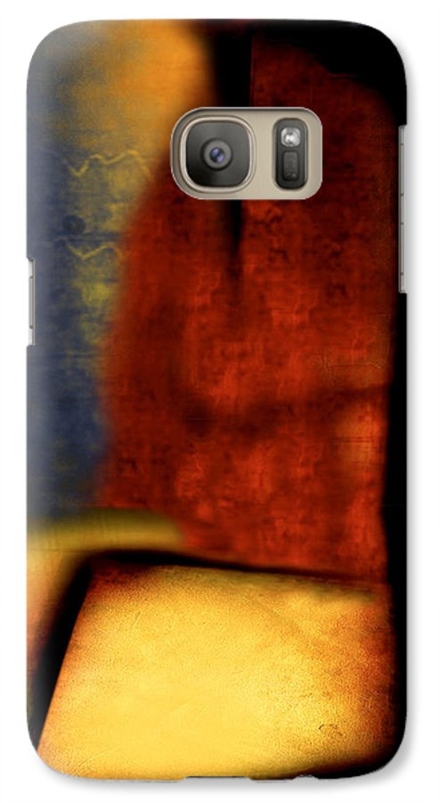 Golf Galaxy S7 Case featuring the painting Golf by Jill English