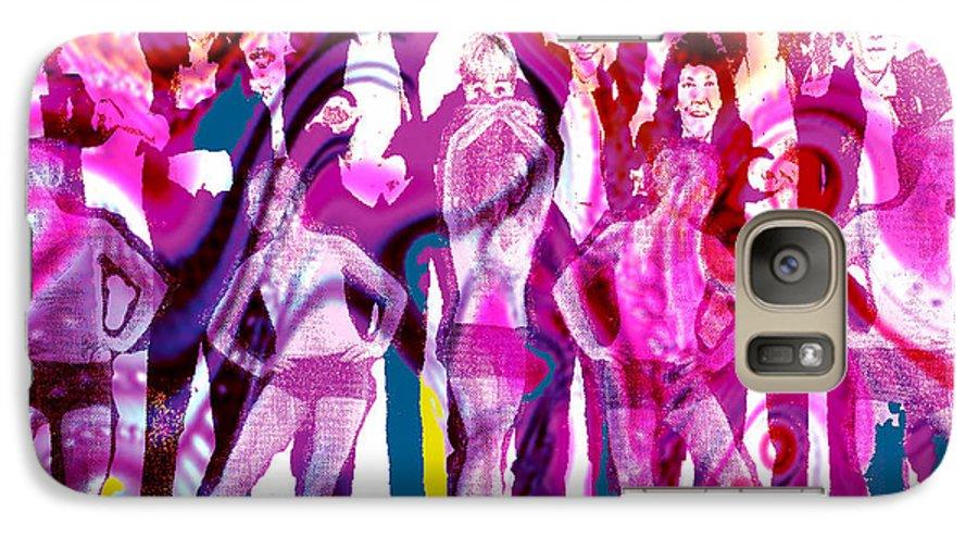 Joy Galaxy S7 Case featuring the digital art Got To Dance by Seth Weaver