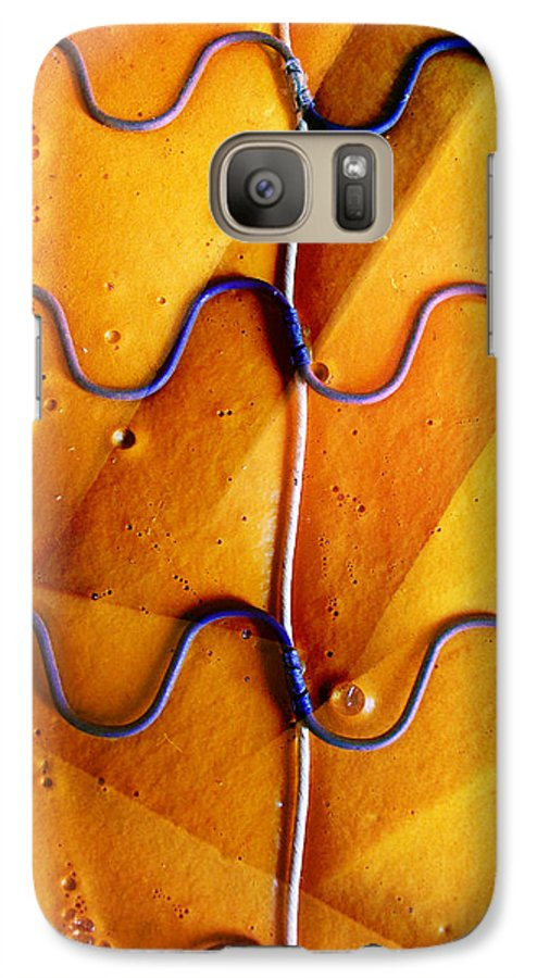 Skip Hunt Galaxy S7 Case featuring the photograph Government Cheese by Skip Hunt