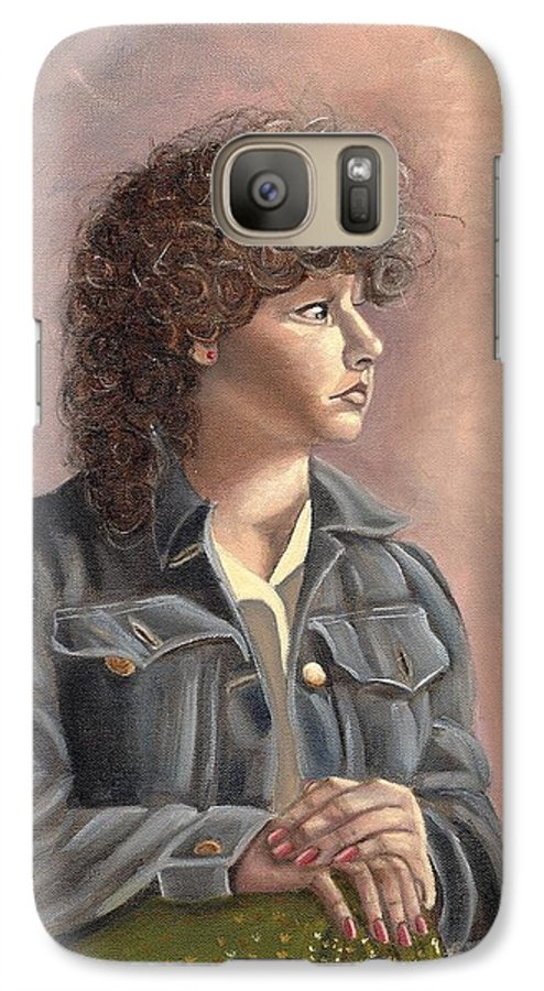 Galaxy S7 Case featuring the painting Grace by Toni Berry