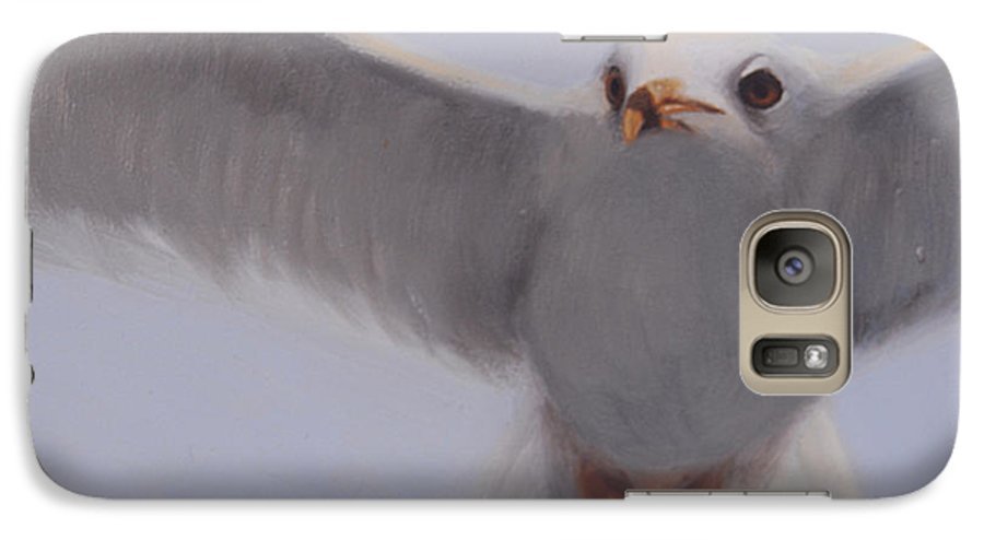 Painting Galaxy S7 Case featuring the painting Graceful by Greg Neal