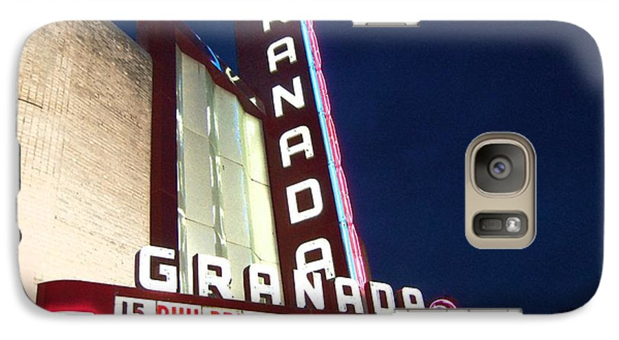 Music Galaxy S7 Case featuring the photograph Granada Theater by Debbi Granruth