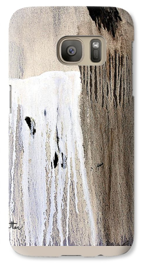 Native American Galaxy S7 Case featuring the painting Great Spirit by Patrick Trotter