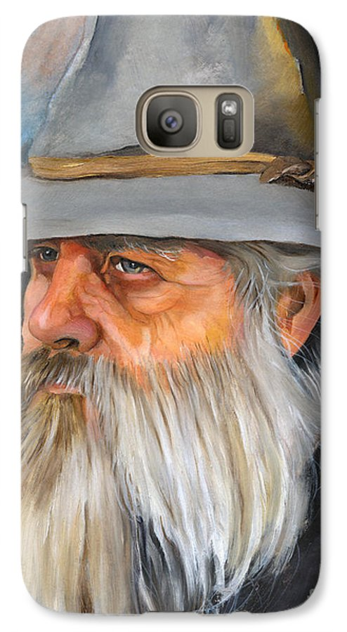 Wizard Galaxy S7 Case featuring the painting Grey Days by J W Baker