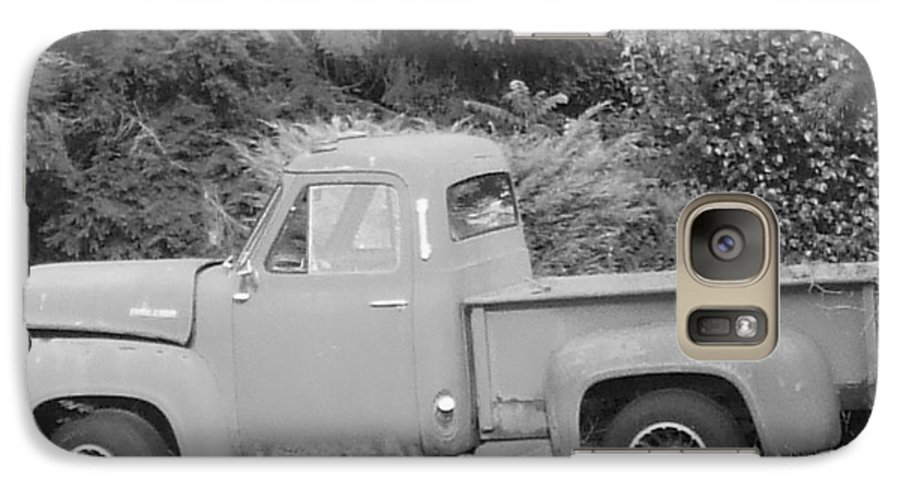 Truck Galaxy S7 Case featuring the photograph Grounded Pickup by Pharris Art
