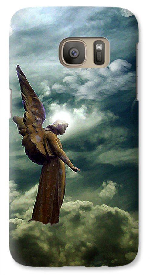 Sky Galaxy S7 Case featuring the digital art Guardian Angel by Ruben Flanagan